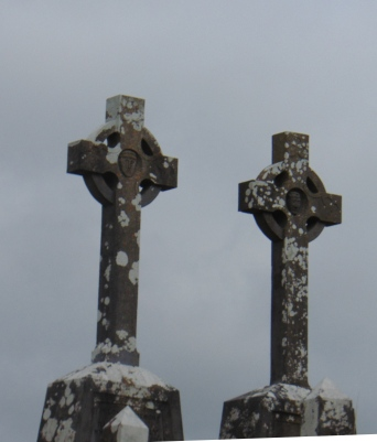 double celtic crosses
