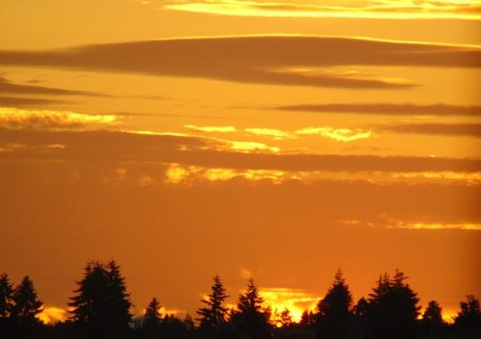 Thur sunset